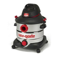 Shop-Vac 5989400 8 gallon 6.0 Peak HP Stainless Wet Dry Vacu