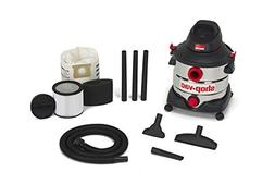 Shop-Vac 5979403 8 gallon 6.0 Peak Hp Stainless Wet Dry Vacu