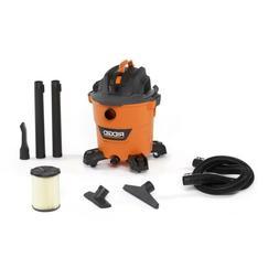 RIDGID 12 Gal. 5.0 Peak HP Shop Vac NXT Wet Dry Vacuum w/ Bu