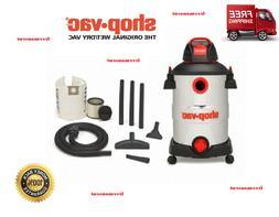 Shop-Vac 12 Gallon 6 Peak HP Stainless Steel Wet/Dry Vacuum