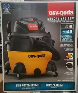 SHOP VAC 16 GALLON WET / DRY VACUUM 6.5HP