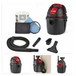 2.5 HP Handheld Shop Vacuum 2.5-Gallon Tank Portable for Wet
