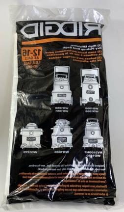 2 Pack Ridgid Drywall Dust High Efficiency Vacuum Cleaner Ba