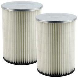 2 Pack Shop-Vac 90328 Replacement Cartridge Filters for Craf