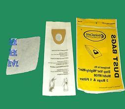 24 Style U Hypo Allergen Electrolux Upright Vacuum Bags BRAN