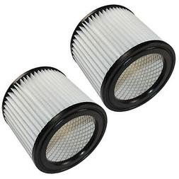 2x HQRP Cartridge Filters for Shop-Vac 5 HangUp & 1-4 gallon