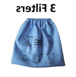 Cloth Filter for Craftsman 2&2-1/2 Gal. Shop Vac 916949, 9-