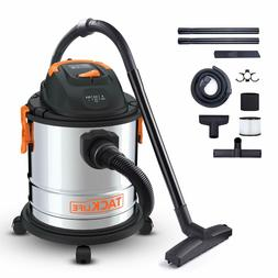 3 in 1 Wet Dry Shop Vac Vacuum Blower Stainless Steel 5 Gall