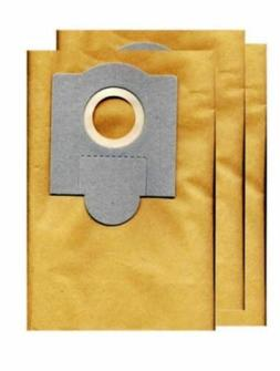 3 Pk Fein Power Shop Vac Turbo Paper Bags Part GK-TURBOI