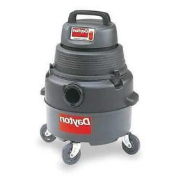 "DAYTON 4YE66 Commercial Shop Vacuum, 1-1/4"" Hose Dia., HEPA"