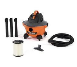 6 Gal. 3.5-Peak HP NXT Wet/Dry Shop Vacuum with Filter Hose