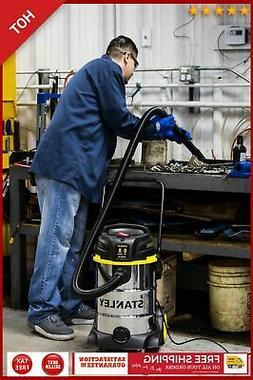 8 GALLON VACUUM CLEANER Wet Dry Vac Shop 6 Peak HP Stainless
