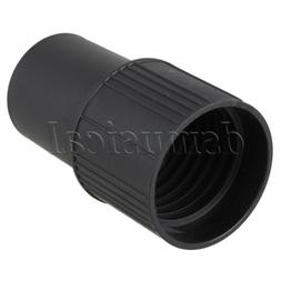 Black 39mm ID Vacuum Adapter Fittings 00214 for Shop Vacuum