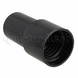 Black Plastic 40mm ID Vacuum Hose Adaptor 00178 for Shop Vac