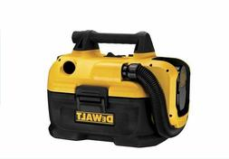 NEW Durable DEWALT 2-Gallon Shop/Car Vacuum Battery-Powered