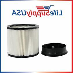 Filter fits ShopVac 90304 903-04 903-50-00 Vacuums 5 Gallons