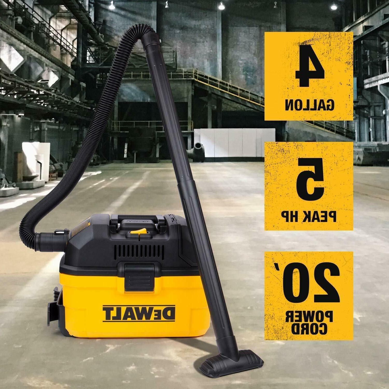 DEWALT 1-7/8-in 5-HP Shop Vacuum Covienent for