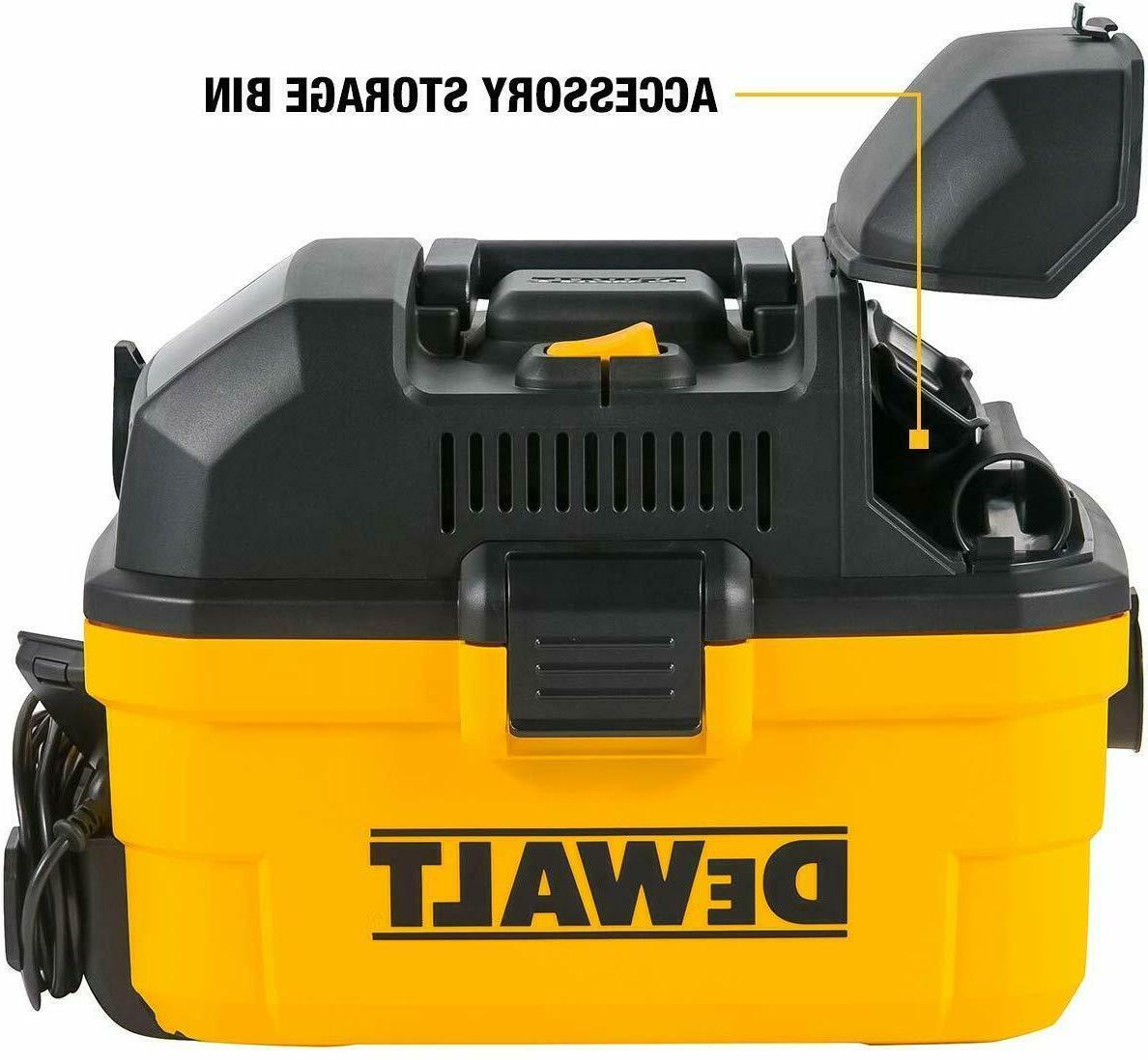 DEWALT Shop Vacuum Portability Is