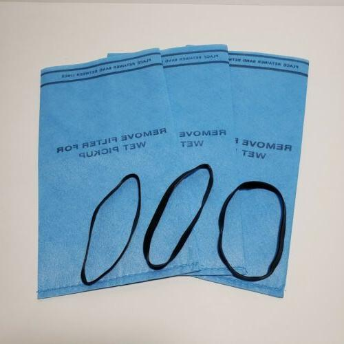 3 wet dry filter bags fits 2