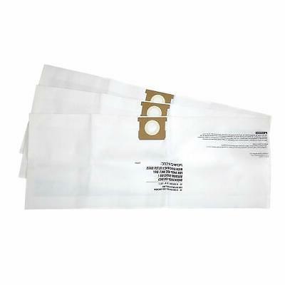 POWERTEC Filter Bags Shop Vac Gallon, 2