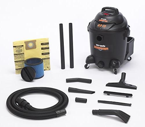 Shop-Vac Commercial Vacuum-12 Gallon Capacity