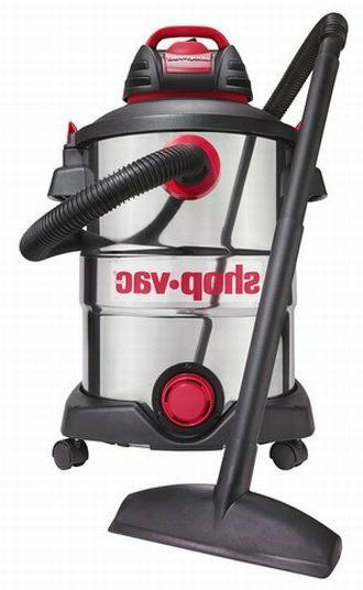 Shop-Vac 12 Peak Stainless Steel Wet/Dry Vacuum with NEW!