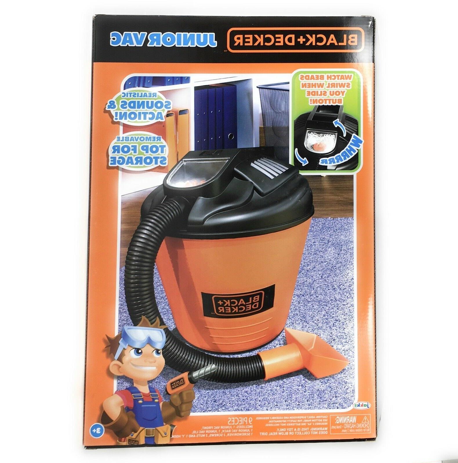 Black Decker Junior Shop Vac Toy - Kids
