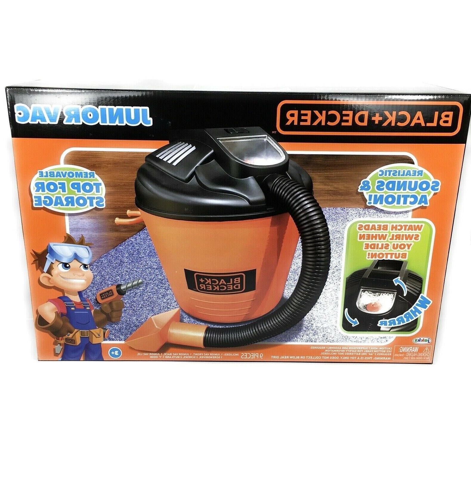 black and decker junior shop vac vacuum