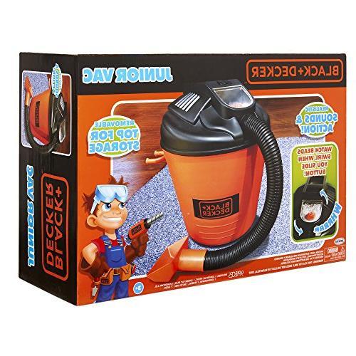 Black Shop Vacuum Toy