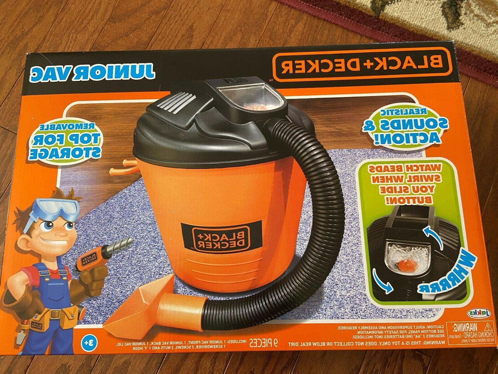 black decker jr shop vacuum