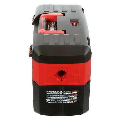 Cordless Wet/Dry Vacuum Cleaner Milwaukee 18-Volt Bagless