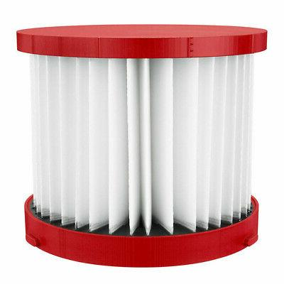 milwaukee wet dry vacuum replacement filter