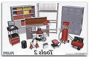 models 1 24 garage tools set 2