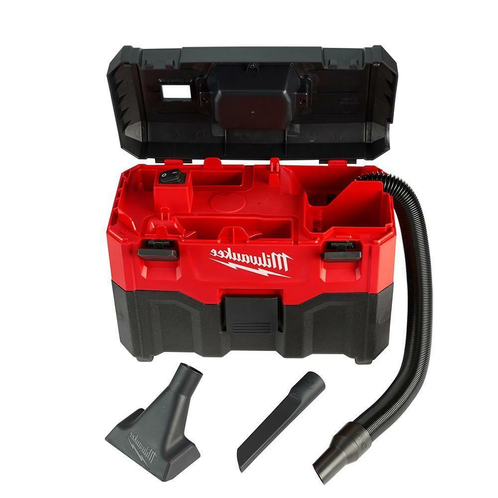 NEW Milwaukee M18-V Lithium-Battery Shop//Car Portable Vacuum Cleaner Vac Wet//Dry