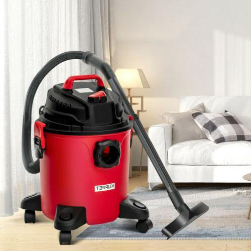 Wet Dry Vacuum Cleaner Portable 5.3 Gallon 3-in-1 Vac Shop 3