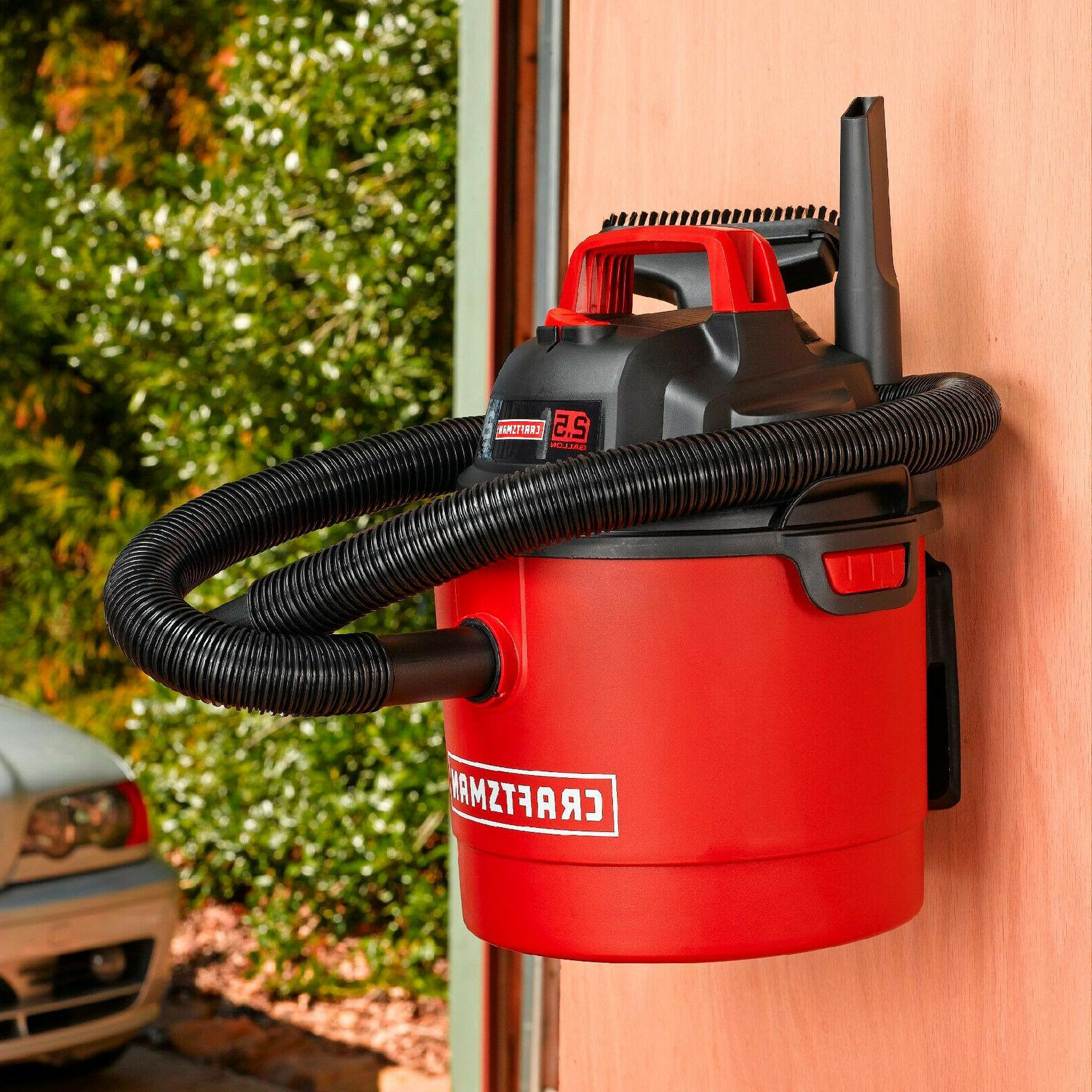 Craftsman Portable Vacuum Wet Dry Car Shop Wall Garage Blower Vac