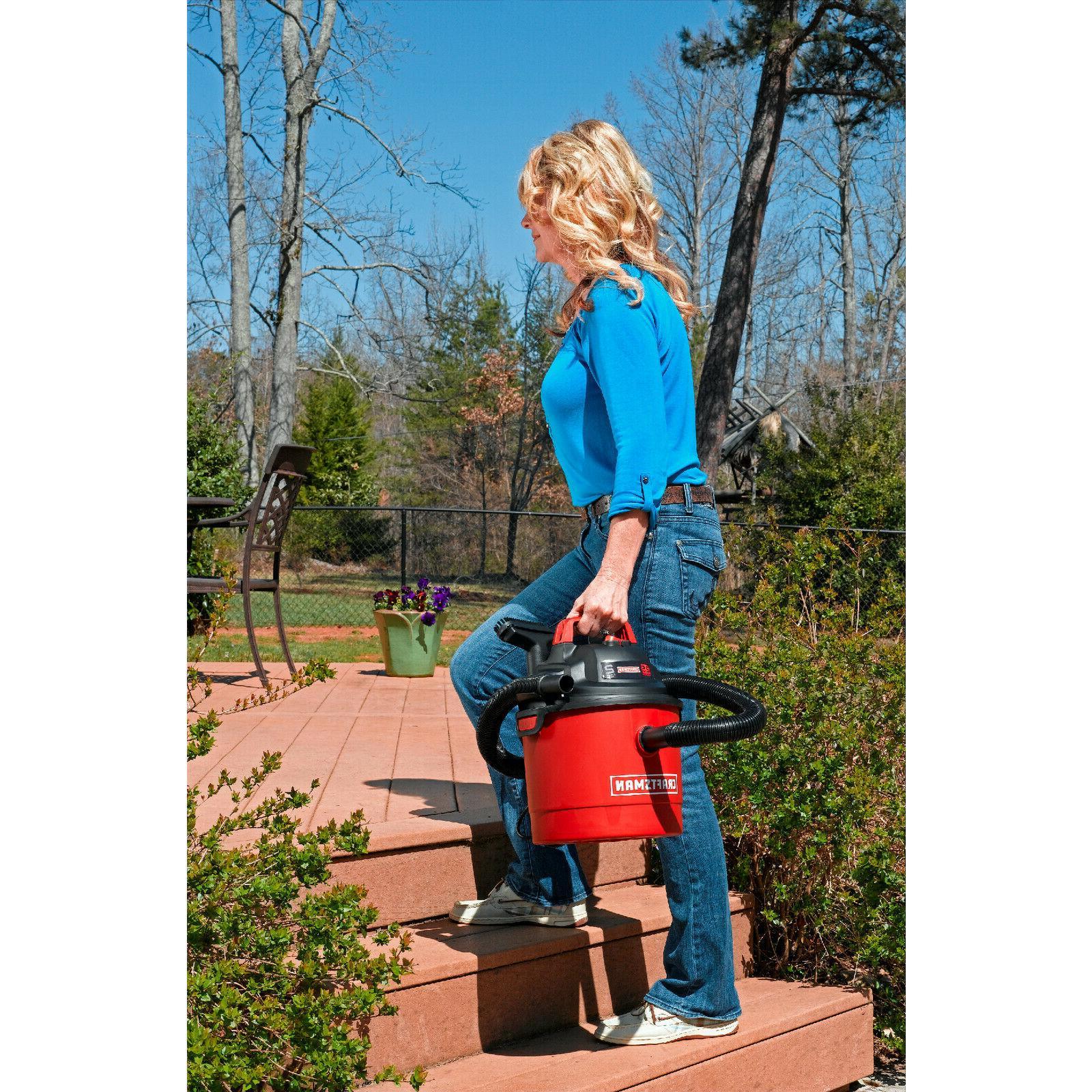 Craftsman Portable Vacuum Wet Dry Car Wall Blower Vac