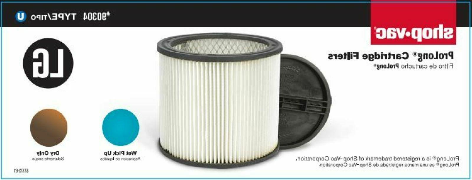 Shop-Vac Type Large Cartridge Filter Home Improvement