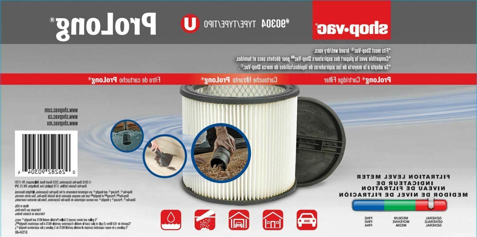 Shop-Vac 5 Type U Filter Improvement Tool