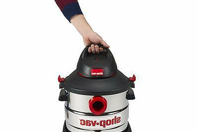 Shop-Vac 5979403 6.0 Hp Stainless Wet