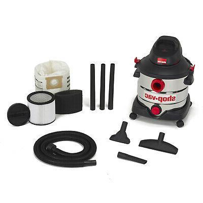 Shop Steel 8 Gallon Wet Vacuum Floor Cleaner Blower