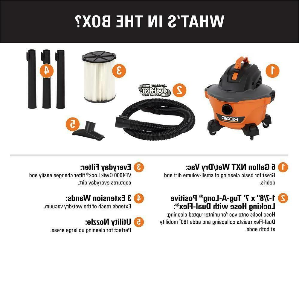 Shop Vac Cleaner Wet Dry Gallon