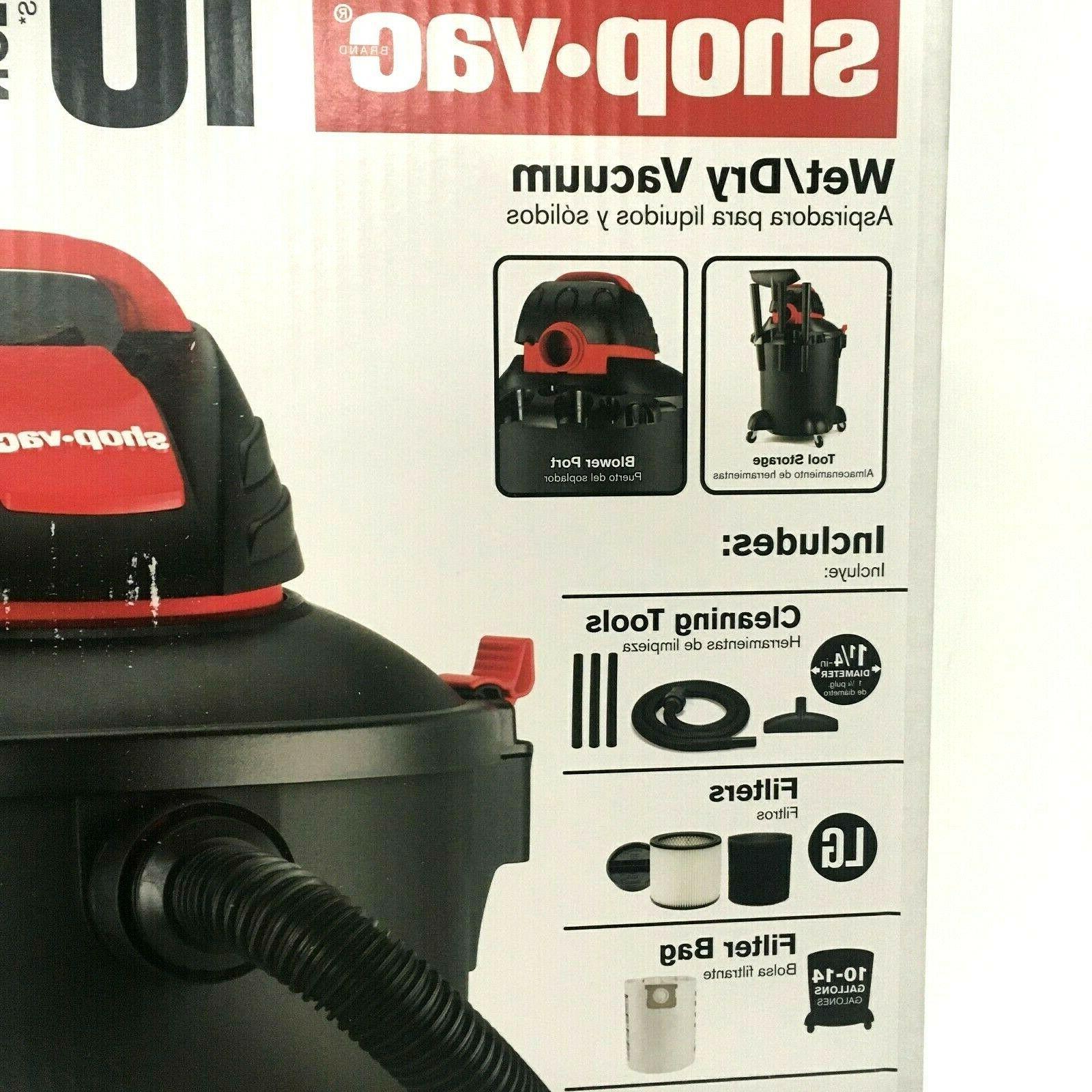 Shop-Vac 10-Gallon 4.5-HP Portable Tools