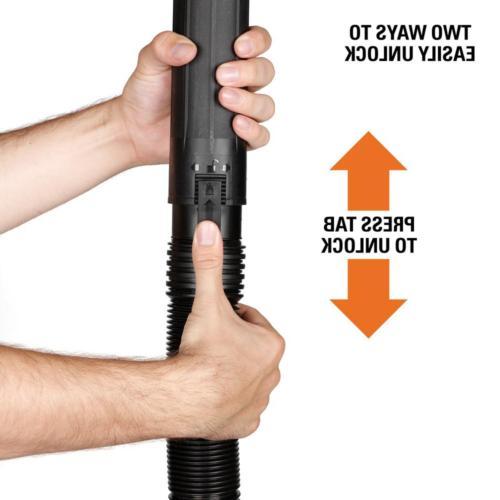Wet/Dry Hose Shop Inlet ft. Long Locking Tab