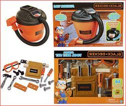 LOT 2- Black & Decker Junior Kids Shop Vac Vacuum + 14 Pcs T
