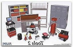 FUJIMI MODELS 1/24 GARAGE TOOLS SET #2  | 11371