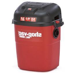 Shop-Vac 3940100 3-1/2-Gallon 3-HP Wall Mount Wet Dry Vacuum