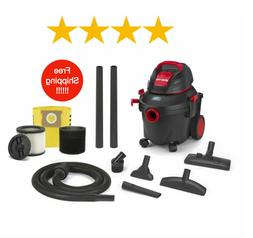 Shop-Vac 4-Gallon 5.5-HP Wet/Dry Home Garage Shop Vacuum-Cle