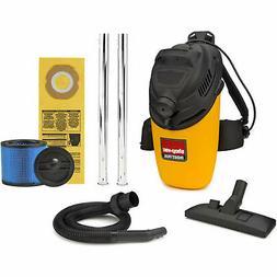Shop-Vac Back Pack Vacuum, 4-Gallon 6.0-Peak HP, 2861010, Lo
