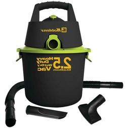 SHOP VAC VACUUM WET DRY Black 2.5 Gallon Heavy Duty Attachme